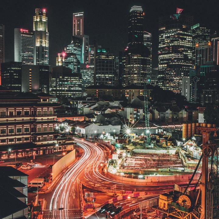 残業が少ない「シンガポール」